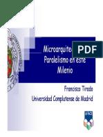 Tirado Microarquitectura Paralelismo Milenio