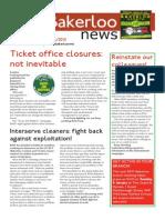 Bakerloo News (December-January)