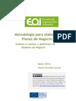 Metodología para elaborar Planes de Negocio