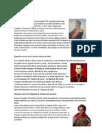 Biografía Corta de Simón Bolívar