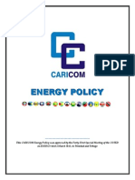 CARICOM Energy Policy March 2013