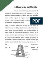 Proceso de Elaboración Del Martillo