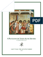 Program for Youth Altar Servers, 4th Edition-1