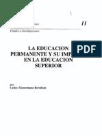 Carlos Tünnermann Bernheim_ Educacion permanente y su impacto en la ES.pdf