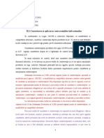 II.2.Constatarea Şi Aplicarea Contravenţiilor-Infracţiunilor