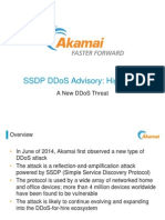 SSDP Reflection Attacks | DDoS Threat Advisory | Excerpts