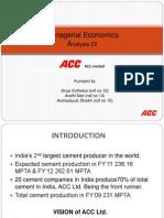 ACC Ltd. Presentation