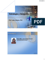 Estrategia y Geografia