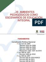 Ambientes pedagogicos