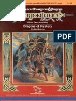 Dragonlance - Dragons of Mystery