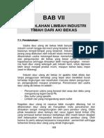 07. Pengolahan Limbah Industri Timah Dari Aki Bekas