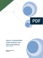 Aborto e infanticidio Alejandra Castillo Ara de la DPP.pdf