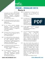 Bancazo ENAM - ESSALUD 2013 Parte 6 - Villamedic