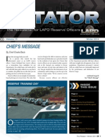 LAPD Reserve Rotator Newsletter Winter 2014