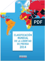 2014 clasificacion mundial espanol