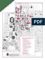 UArk Campus Map