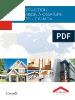 Construction de Maison à Ossature de Bois – Canada (SCHL) CNB 2010 Rev 2013 sasdasdasd