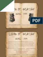 Libro Ocasion Abril 2014