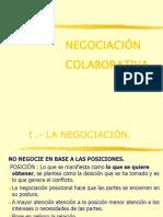 Principios Negociación Colaborativa