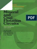 Mineral and coal flotation circuits