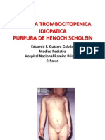 Purpura Trombocitopenica Idiopatica