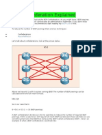 BGP Confederation Explained