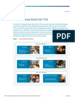 Cisco USC-7734 SmallCell Datasheet