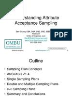 Acceptance Sampling Presentation