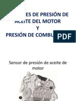 Sensores de Presión de Aceite y de Combustible CAT