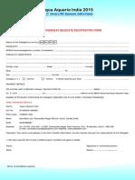 Delegare Registration Form Aai 2015