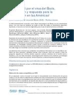 Preparacion Respuesta Ebola Americas