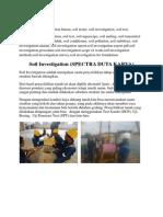 Soil investigation batam, Soil Test Batam, Bore Pile Batam