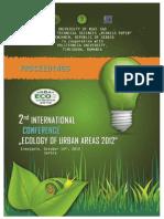Proceedings UrbanEco 2012