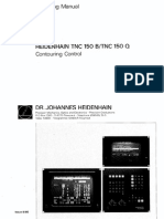 Operating Manual TNC 150