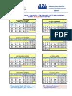 Calendario EOI 1415