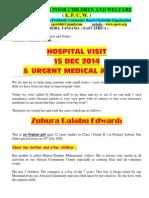 Urgent Medical Appeal