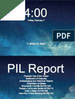 PIL Report