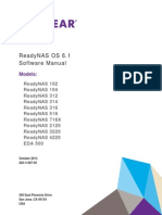 Readynas 6.1 Software manual