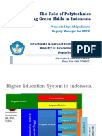Afriyudianto- The Role of Polytechnics in Promoting Green Skills in Indonesia