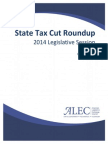 2014 State Tax Cut Roundup