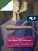 Wendianne Alice Eller. Sociolingüística del español gay mexicano