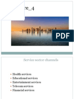 Service sector Channels