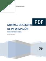 NORMA DE SEGURIDAD DE INFORMACIÓN