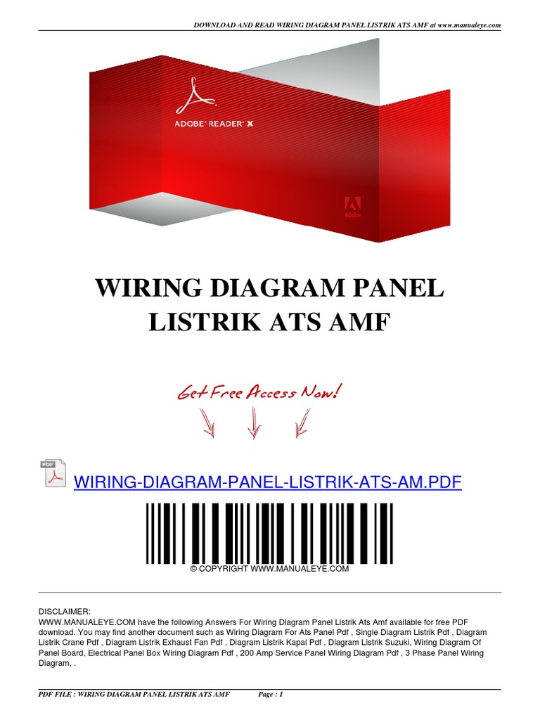 Wiring diagram panel listrik ats amfpdf asfbconference2016 Image collections