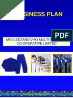 Mveledzandivho Co-operative Business Plan Final