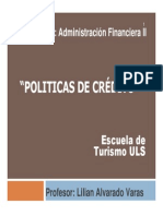 Administracion de La Politica de Credito