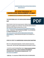 Explaining Step by Step the Process of Knowledge Management 2.0 Map