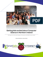 Getting kids excited about Computer Science in Northern Ireland