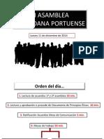 III Asamblea Ciudadana Portuense
