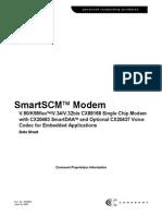 Smart SCM modem